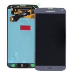 Genuine Samsung Galaxy S5 Neo G903F LCD + Digitiser Silver - Part No: GH97-17787C